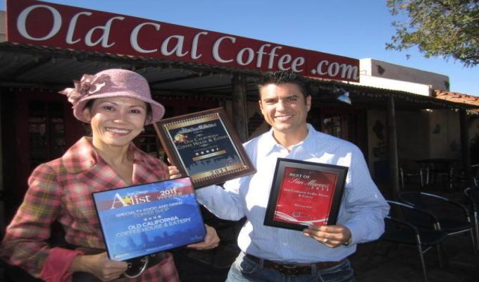 Old California Coffee House, August Business of the Month