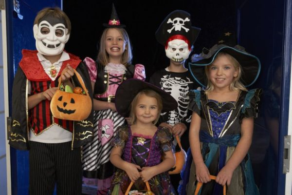 FREE Halloween Trick or Treating at Old California Coffee House